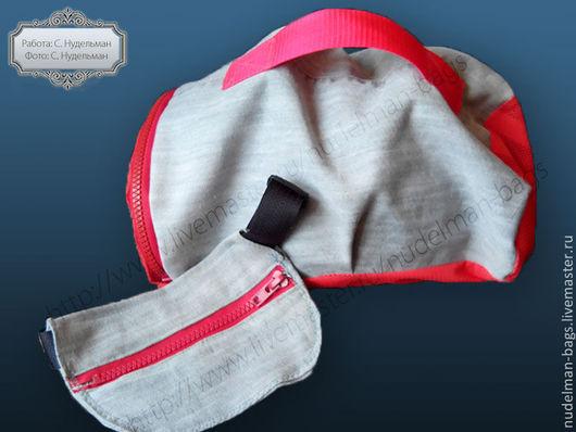 Комплект сумка для шлема и поясная сумка конный спорт