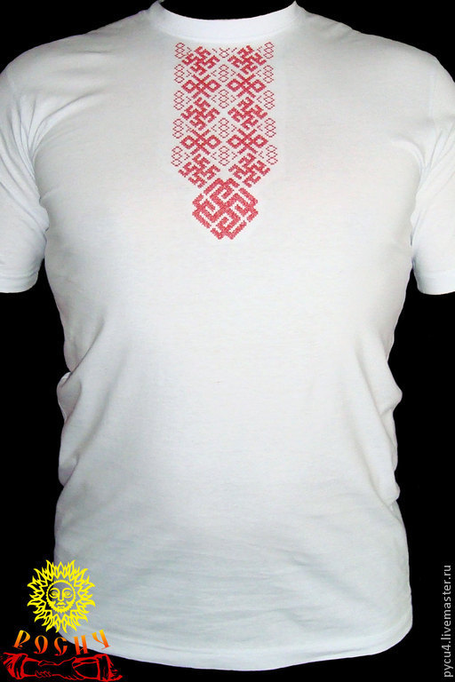 T Shirt With Embroidery Radimich Shop Online On Livemaster With