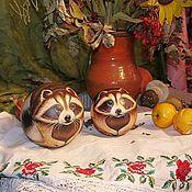Куклы и игрушки handmade. Livemaster - original item Raccoons balls dolls music. Handmade.