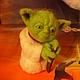 Сказочные персонажи ручной работы. Валяная игрушка Магистр Йода. Любовь. Интернет-магазин Ярмарка Мастеров. Бежевый цвет