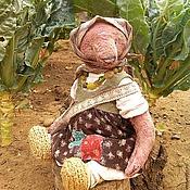 Куклы и игрушки ручной работы. Ярмарка Мастеров - ручная работа Баба Дуня , мишка тедди. Handmade.