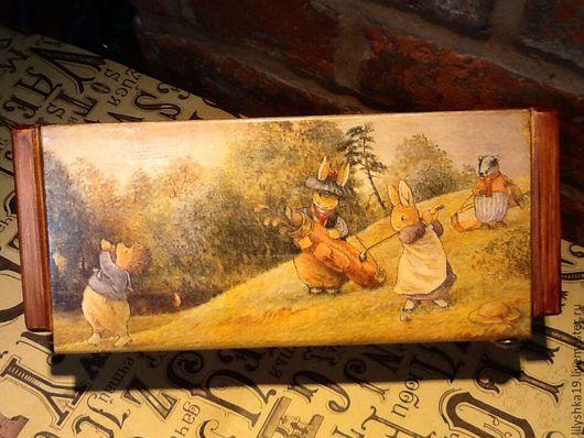 """Кухня ручной работы. Ярмарка Мастеров - ручная работа. Купить """" Гольф"""" ))). Handmade. Коричневый, foxwood tales"""
