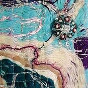 """Материалы для творчества ручной работы. Ярмарка Мастеров - ручная работа Пуговица шубная ручной работы на заказ """"Изумруд"""" в любом цвете 4см. Handmade."""