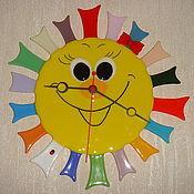 """Для дома и интерьера ручной работы. Ярмарка Мастеров - ручная работа Часы """" Солнечный зайчик"""". Handmade."""