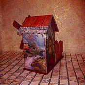 Для дома и интерьера handmade. Livemaster - original item Tea house and candy dish Old Mill. Handmade.