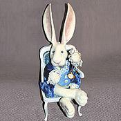 """Куклы и игрушки ручной работы. Ярмарка Мастеров - ручная работа Белый Кролик из """"Алисы..."""". Handmade."""