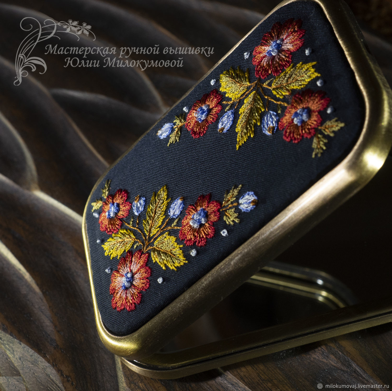 Mystic Garden pocket mirror (rectangular), Mirror, Moscow,  Фото №1
