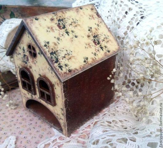 """Кухня ручной работы. Ярмарка Мастеров - ручная работа. Купить Чайный домик """"Country house"""". Декупаж.Подарок женщине.. Handmade."""