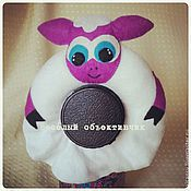 Куклы и игрушки ручной работы. Ярмарка Мастеров - ручная работа Игрушка на объектив овечка. Handmade.