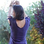 """Одежда ручной работы. Ярмарка Мастеров - ручная работа Топ """"Лесная фея"""" фиолетовый. Handmade."""