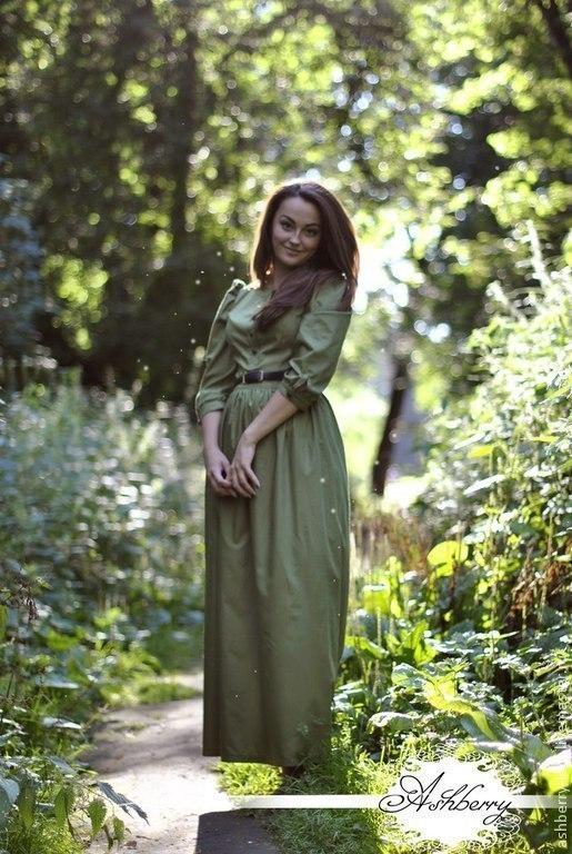 Платье `Флора` из 100% хлопка. Рукавчик 3/4 , верх на пуговках. Шикарно смотрится как с кожаной курточкой, так и с жакетом. Платье на прохладное лето, теплую осень и весну , очень женственное. http://vk.com/ashberry_ledi