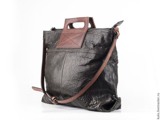 Женские сумки ручной работы. Ярмарка Мастеров - ручная работа. Купить Сумка. Handmade. Черный, сумка женская, сумка кожаная