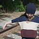 пуловер, пуловер вязаный, пуловер-оверсайз, пуловер для девочки, вязание для детей, вязаная одежда для детей