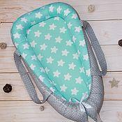 Gift for newborn handmade. Livemaster - original item Nest for newborns with handles. Handmade.