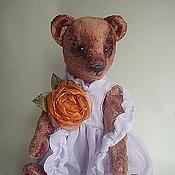 Куклы и игрушки ручной работы. Ярмарка Мастеров - ручная работа Тедди мишка Лилу. Handmade.