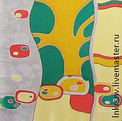 """Аксессуары ручной работы. Ярмарка Мастеров - ручная работа Шарф """"Дерево"""". Handmade."""