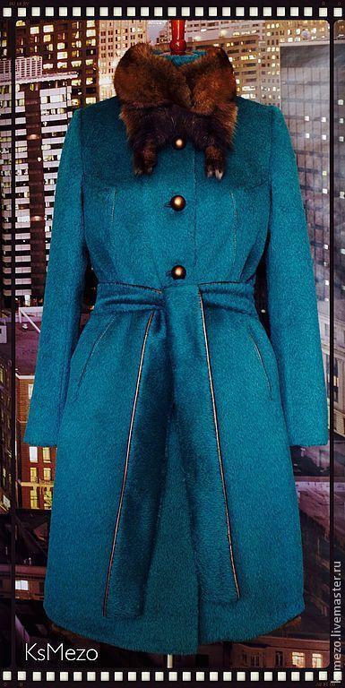 """Верхняя одежда ручной работы. Ярмарка Мастеров - ручная работа. Купить Пальто зимнее """"Соболь на норке"""" 2 в 1  на подстёжке.. Handmade."""