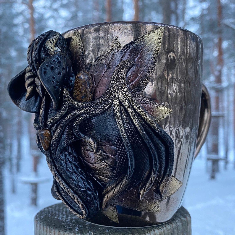Чашка «Золотой дракон», Кружки и чашки, Санкт-Петербург,  Фото №1