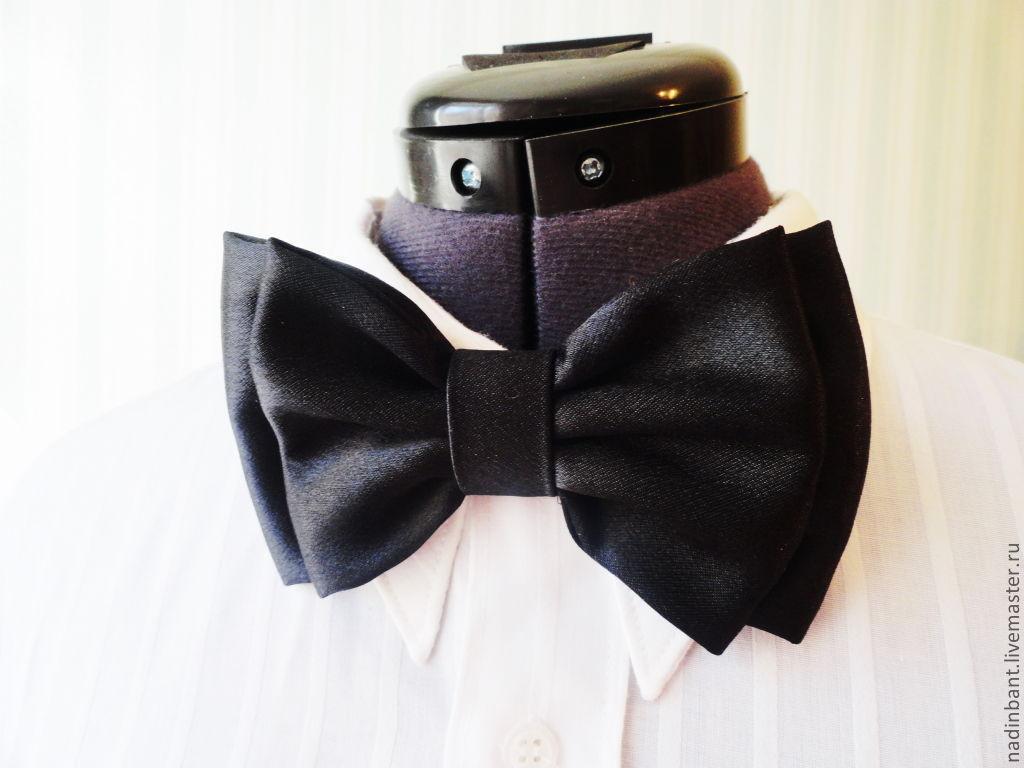Tie Black Satin Extra Big, Ties, St. Petersburg,  Фото №1