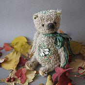 Куклы и игрушки ручной работы. Ярмарка Мастеров - ручная работа Мишка с вышивкой. Handmade.