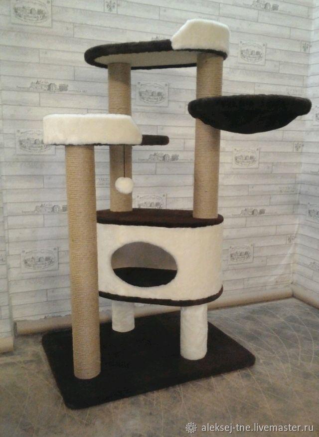 Комплекс для всех пород кошек номер 208, Домик для питомца, Москва,  Фото №1