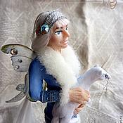 """Куклы и игрушки ручной работы. Ярмарка Мастеров - ручная работа кукла-эльф """"Зимняя бабочка"""". Handmade."""