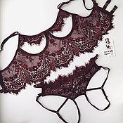 Комплекты белья ручной работы. Ярмарка Мастеров - ручная работа Контурное белье. Handmade.