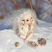 Куклы и игрушки ручной работы. Ярмарка Мастеров - ручная работа Агата, слушающая песню моря.... Handmade.