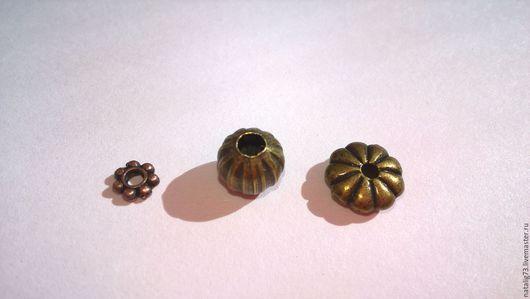 Для украшений ручной работы. Ярмарка Мастеров - ручная работа. Купить Бусина разделитель (3 вида по 10 шт). Handmade.