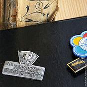 """Сувениры и подарки ручной работы. Ярмарка Мастеров - ручная работа Магнит  """"Ностальгия. Комсомолец"""". Handmade."""
