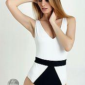Одежда ручной работы. Ярмарка Мастеров - ручная работа Черно-белый идеальный слитник модель: s3. Handmade.