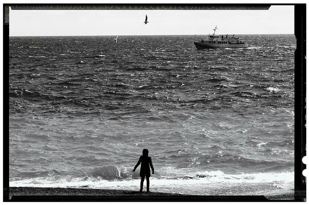 """Авторская фотография """" Девочка и море"""", Фото-работы, Москва, Фото №1"""