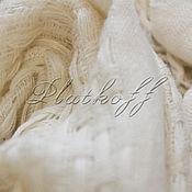 Аксессуары handmade. Livemaster - original item Italian stylish white stole