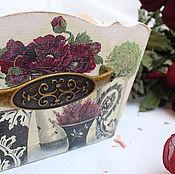 """Для дома и интерьера ручной работы. Ярмарка Мастеров - ручная работа Короб """"Парижские цветы"""". Handmade."""