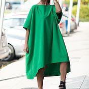 handmade. Livemaster - original item Tunic dress. Green summer palate -DR0272GE. Handmade.
