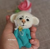 Куклы и игрушки handmade. Livemaster - original item Copyright felted toy Pocket mouse. Handmade.
