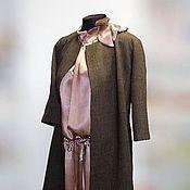 Одежда ручной работы. Ярмарка Мастеров - ручная работа Ретро комплект - Пальто и Платье. Handmade.