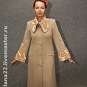"Одежда handmade. Livemaster - original item Knitted coat ""Standard style"". Handmade."