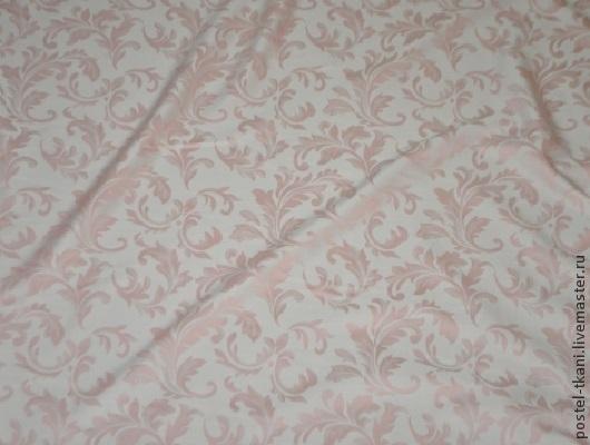 Шитье ручной работы. Ярмарка Мастеров - ручная работа. Купить Ткань жаккард двусторонний Узоры Лайт, цвет Роза. Handmade.