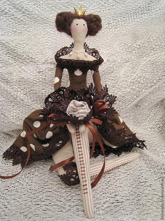 Куклы Тильды ручной работы. Ярмарка Мастеров - ручная работа. Купить Принцесса  Шоколадное Наслаждение. Handmade. Кукла ручной работы