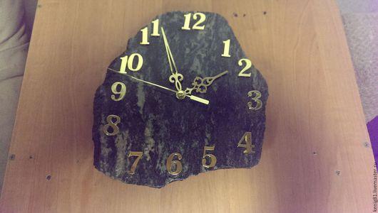 Часы для дома ручной работы. Ярмарка Мастеров - ручная работа. Купить Часы. Handmade. Серебряный, натуральные камни, интерьер