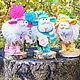Куклы и игрушки ручной работы. Миловидные овечки. Любовь Токарева (Tokareva1987). Интернет-магазин Ярмарка Мастеров. Овечка, козочка, год овечки