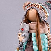 """Куклы и игрушки ручной работы. Ярмарка Мастеров - ручная работа """"ШЁПОТ ОСЕННИХ ЛИСТЬЕВ"""".... Handmade."""