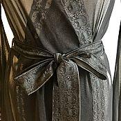Одежда ручной работы. Ярмарка Мастеров - ручная работа Пеньюар прозрачный с кружевом. Handmade.