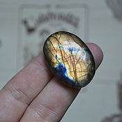 Материалы для творчества handmade. Livemaster - original item Labradorite. Cabochon 35 X 25 X 8. Handmade.