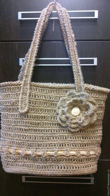 ec6573e1f229 Женские сумки ручной работы. Ярмарка Мастеров - ручная работа. Купить  Пляжная сумка. Handmade