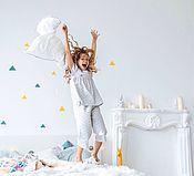 Одежда ручной работы. Ярмарка Мастеров - ручная работа Пижама для девочки. Handmade.
