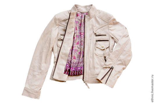 Верхняя одежда ручной работы. Ярмарка Мастеров - ручная работа. Купить Куртка из натуральной кожи (50 цветов). Кожаная куртка. Handmade.