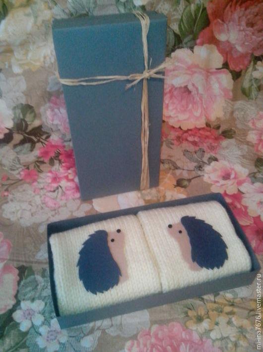 Варежки, митенки, перчатки ручной работы. Ярмарка Мастеров - ручная работа. Купить Варежки. Handmade. Бежевый, варежки ручной работы