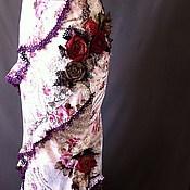 Одежда ручной работы. Ярмарка Мастеров - ручная работа Юбка «Роза Грасса». Handmade.